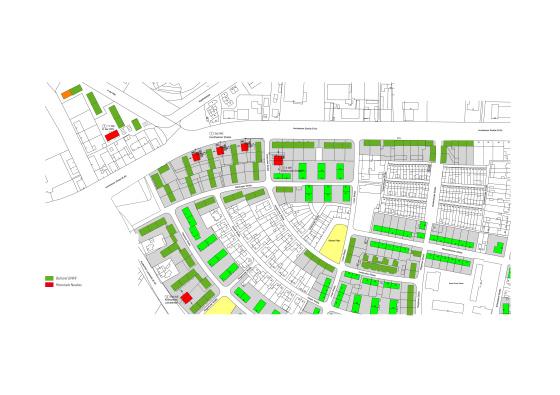 Quartiersentwicklung Gartenstadt Siedlung Kostheim
